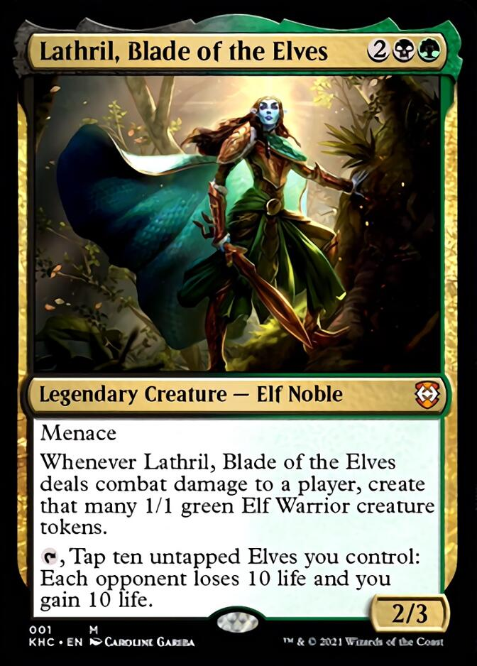 Lathril, Blade of the Elves [KHC]