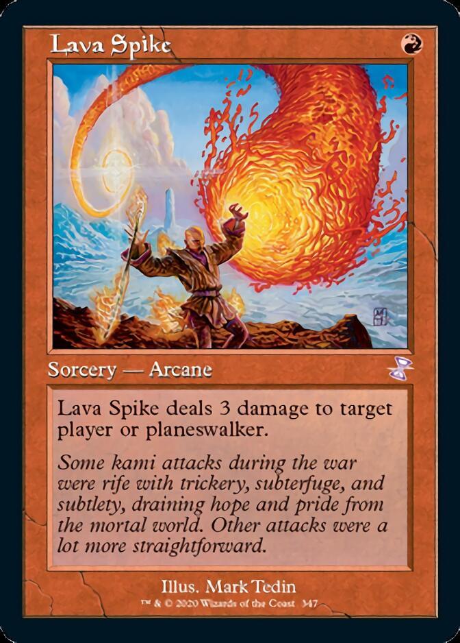 Lava Spike <timeshifted> [TSR]