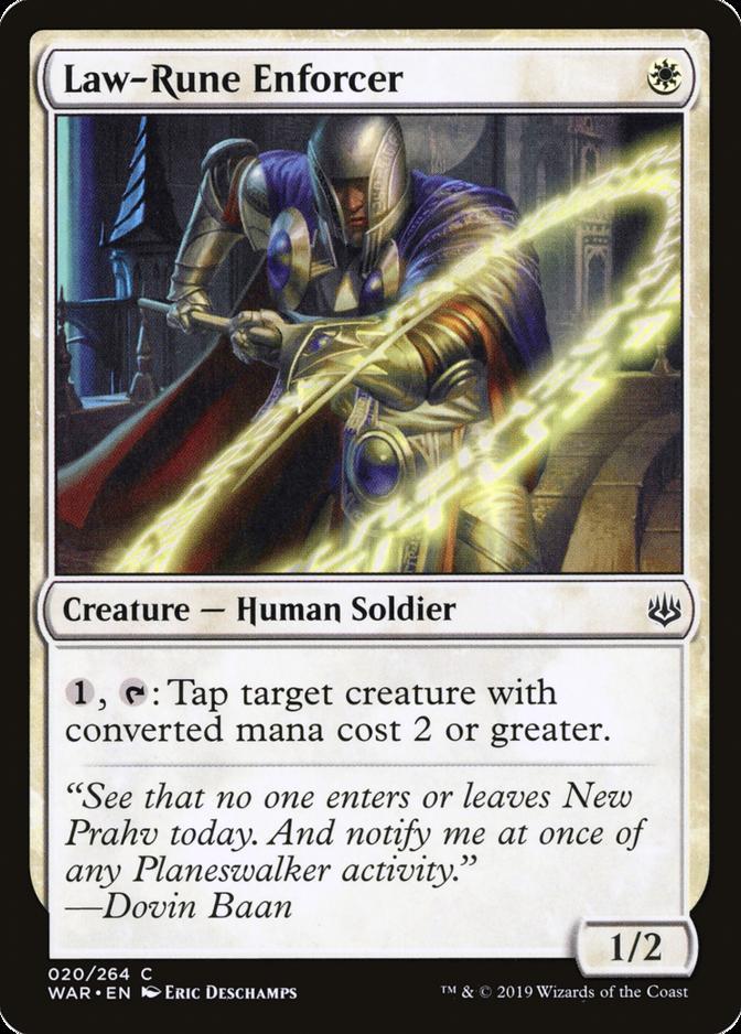 Law-Rune Enforcer [WAR]
