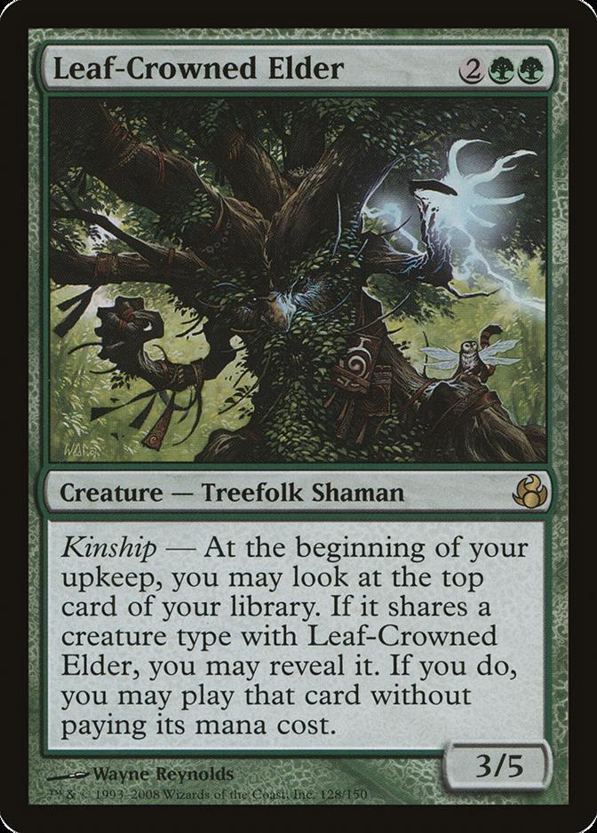 Leaf-Crowned Elder [MOR]