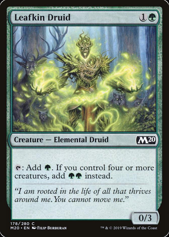 Leafkin Druid [M20] (F)