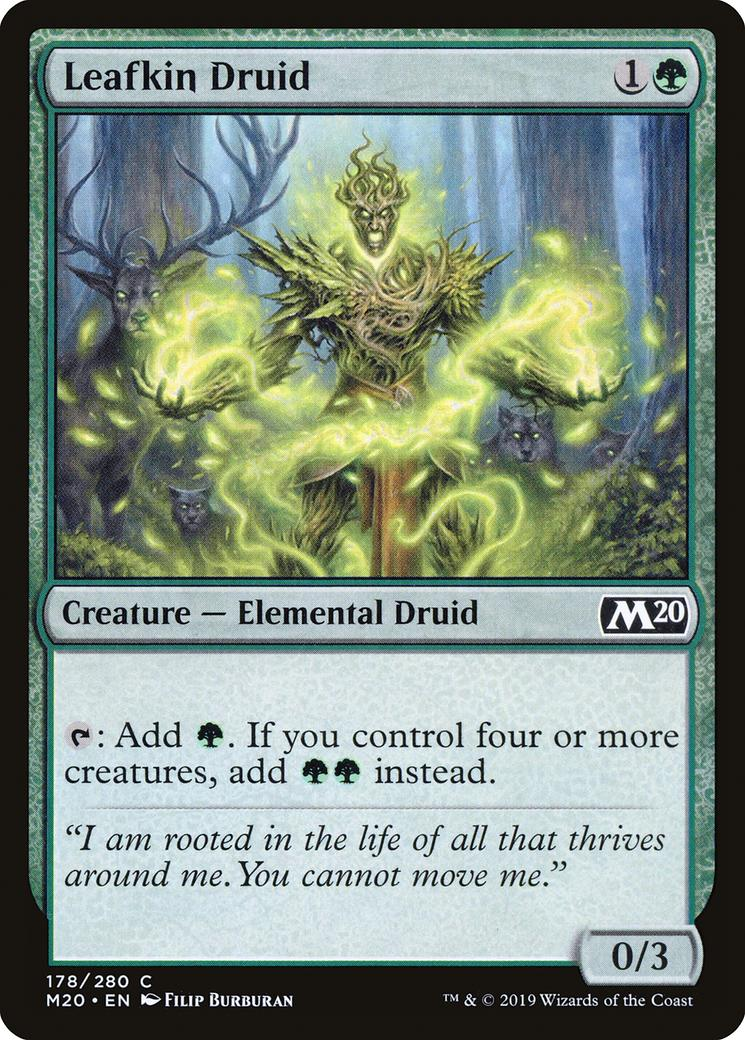 Leafkin Druid [M20]