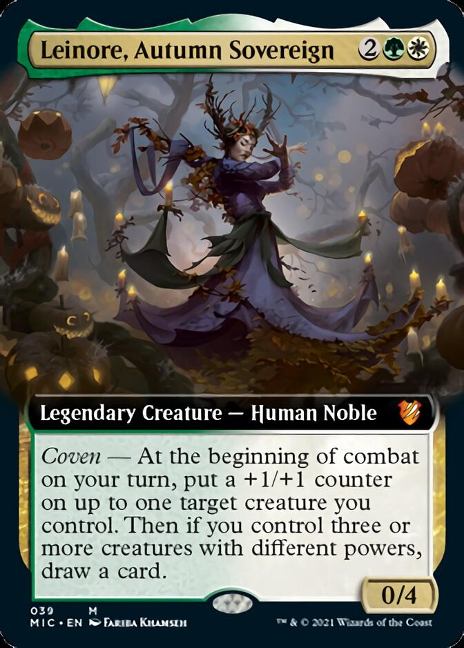 Leinore, Autumn Sovereign <extended> [MIC]