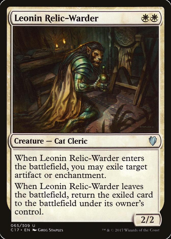 Leonin Relic-Warder [C17]