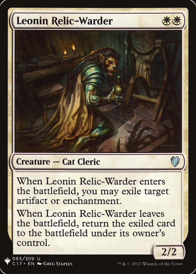 Leonin Relic-Warder [MB1]