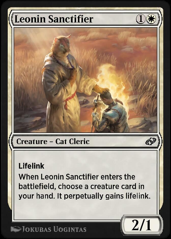 Leonin Sanctifier [J21]