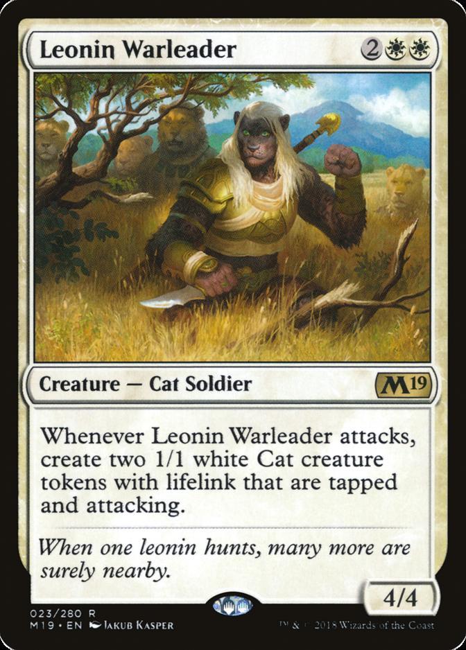 Leonin Warleader [M19]