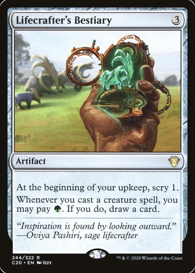 Lifecrafter's Bestiary [C20]