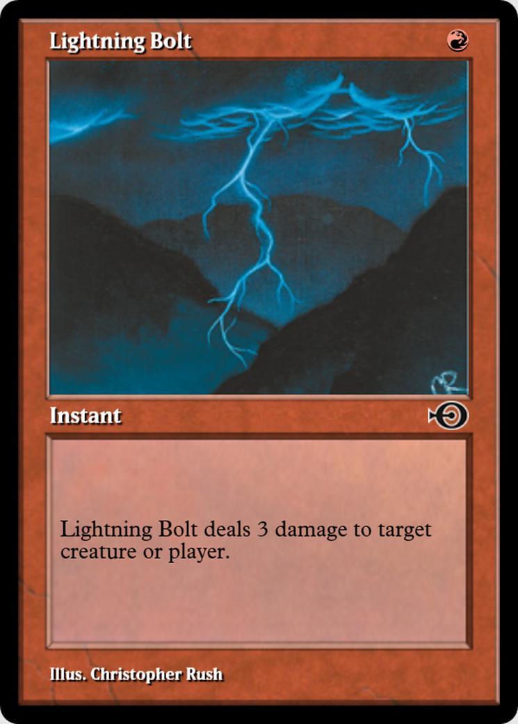 Lightning Bolt [PRM] (F)