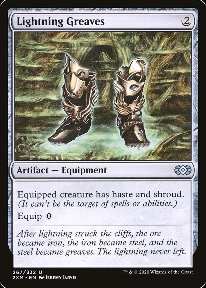 Lightning Greaves [2XM]