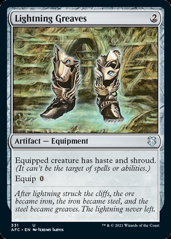 Lightning Greaves [AFC]