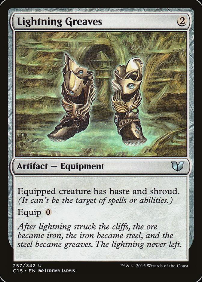 Lightning Greaves [C15]