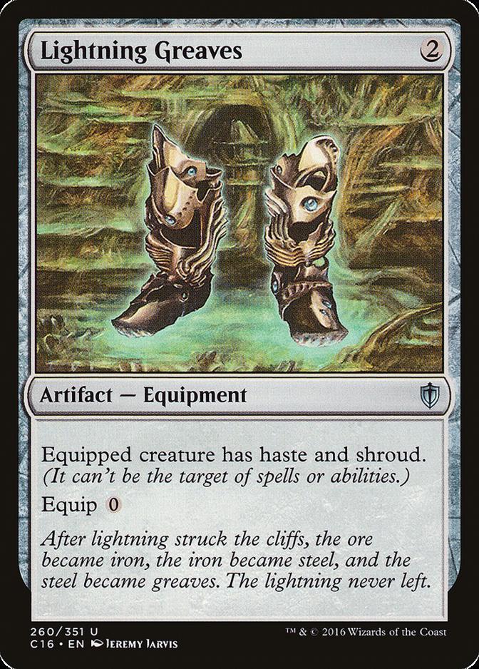 Lightning Greaves [C16]