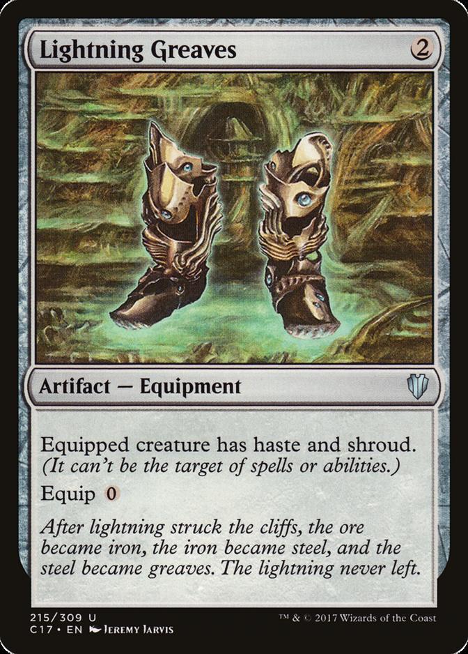 Lightning Greaves [C17]