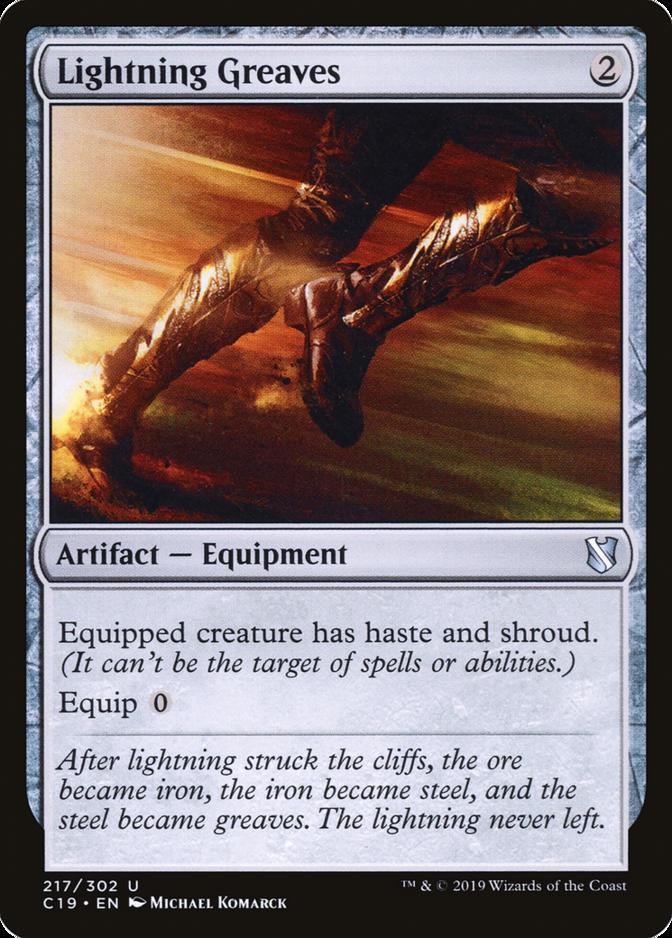 Lightning Greaves [C19]