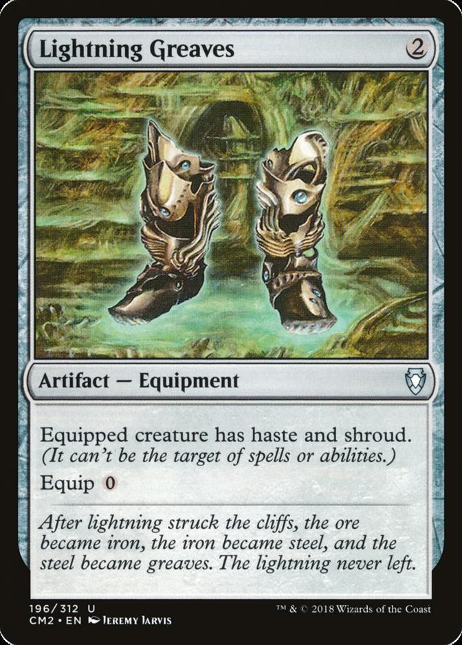 Lightning Greaves [CM2]