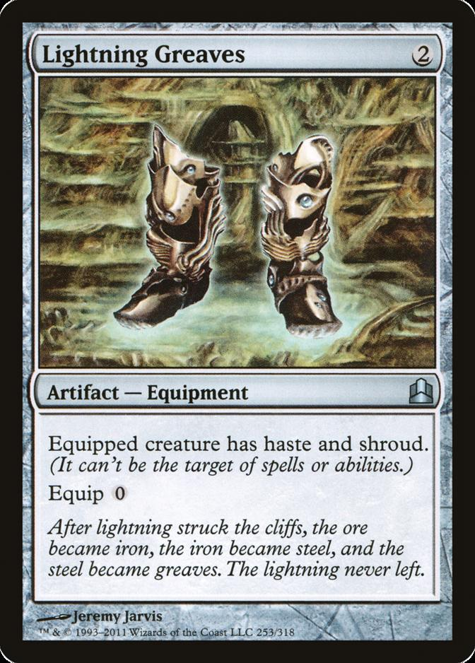 Lightning Greaves [CMD]