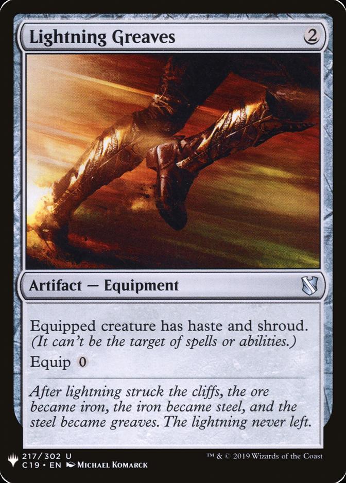 Lightning Greaves [MB1]