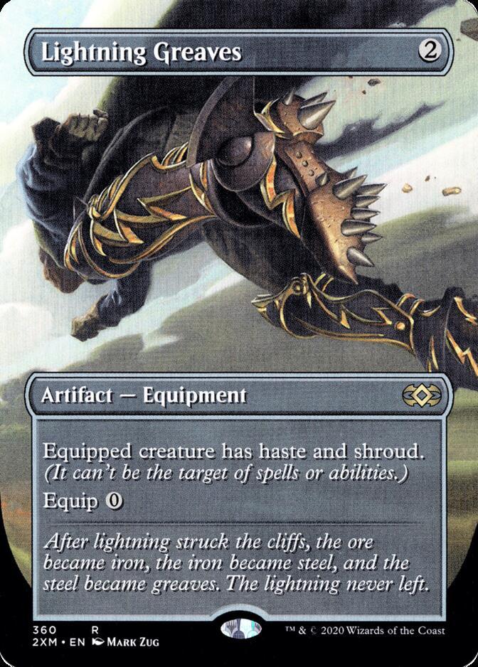 Lightning Greaves [P2XM]