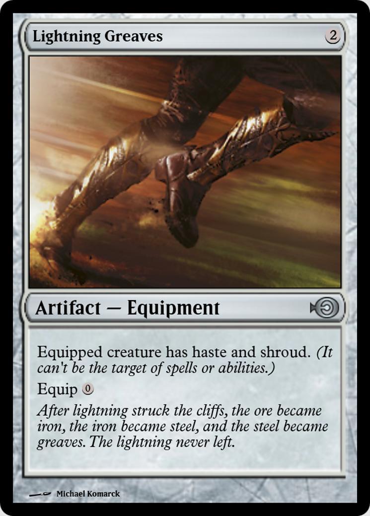 Lightning Greaves [PRM]