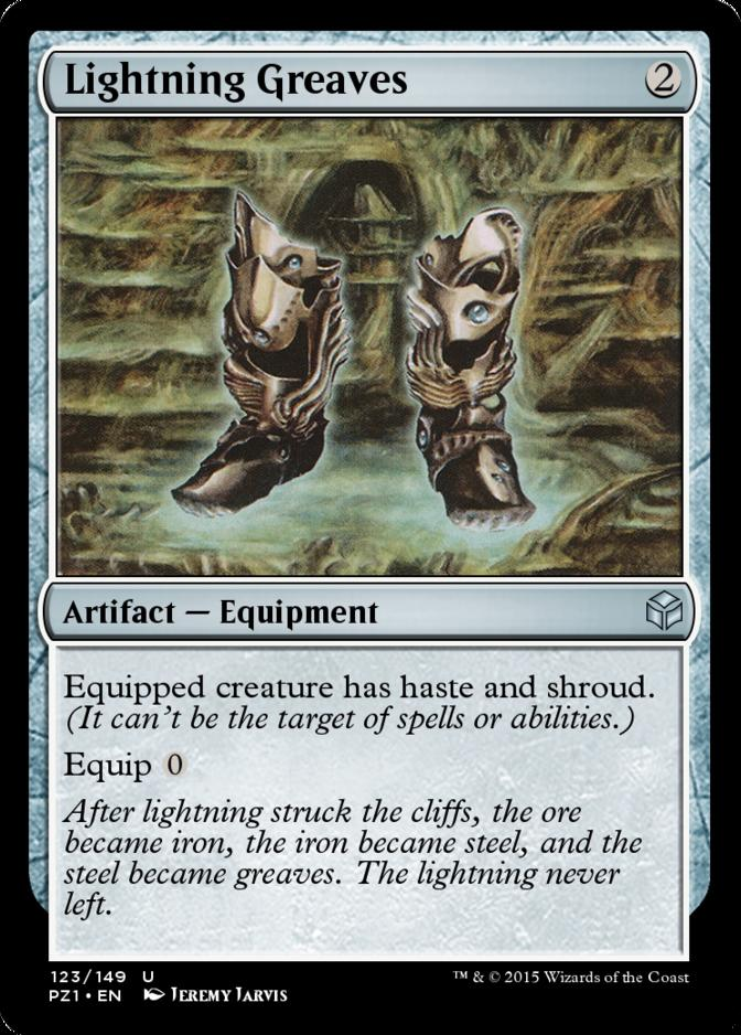 Lightning Greaves [PZ1]