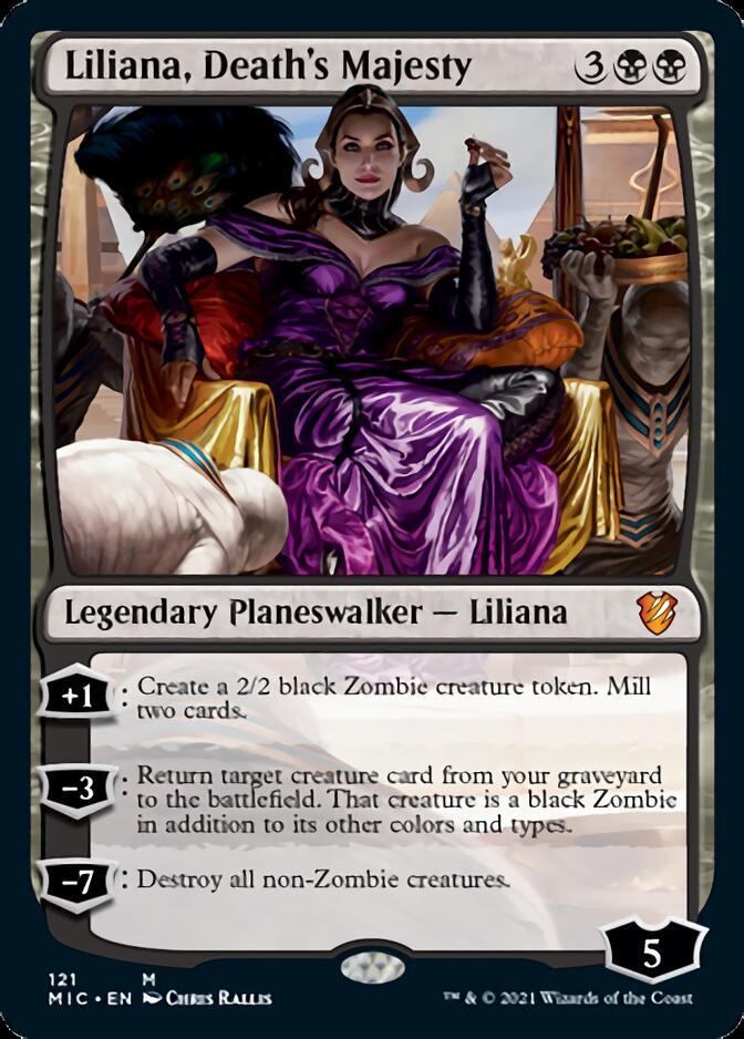 Liliana, Death's Majesty [MIC]