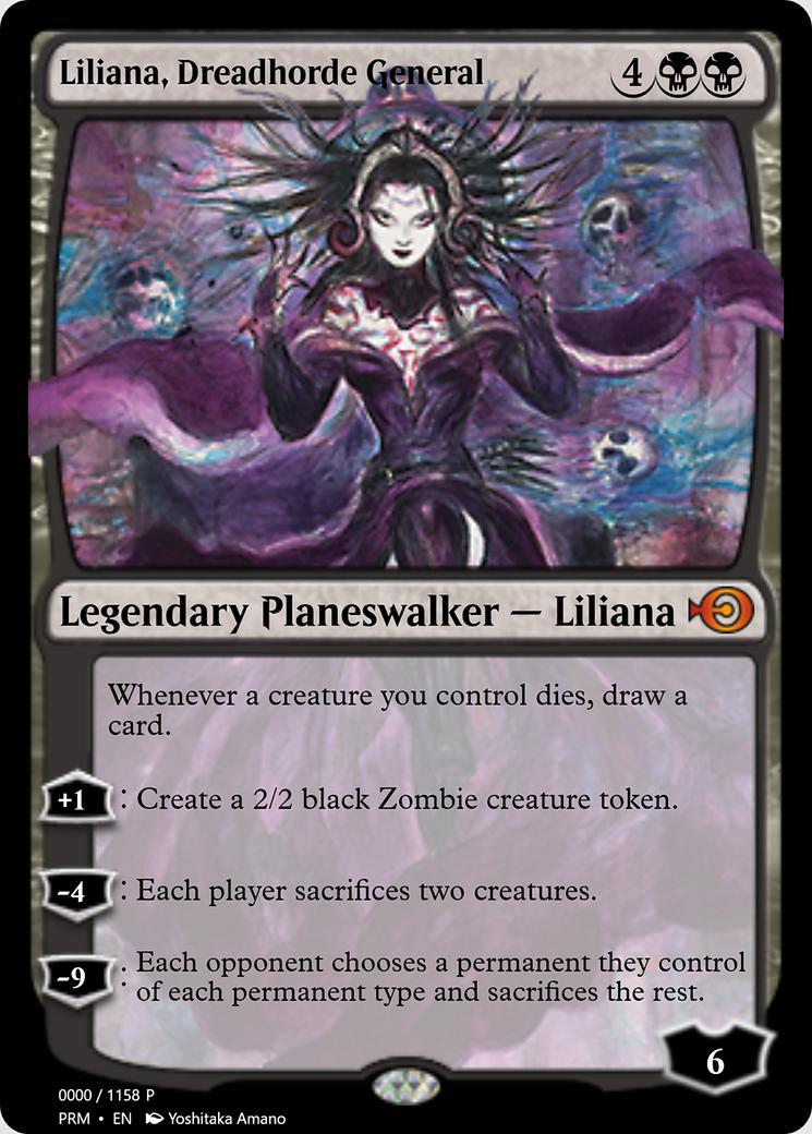 Liliana, Dreadhorde General [PRM]