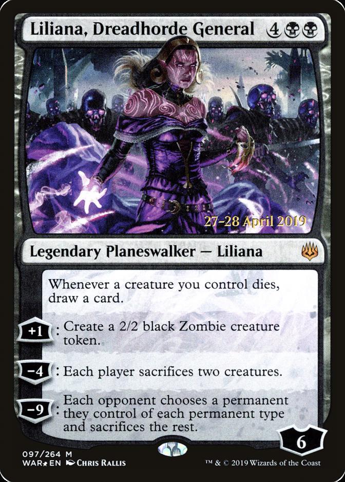Liliana, Dreadhorde General [PRM-PRE] (F)