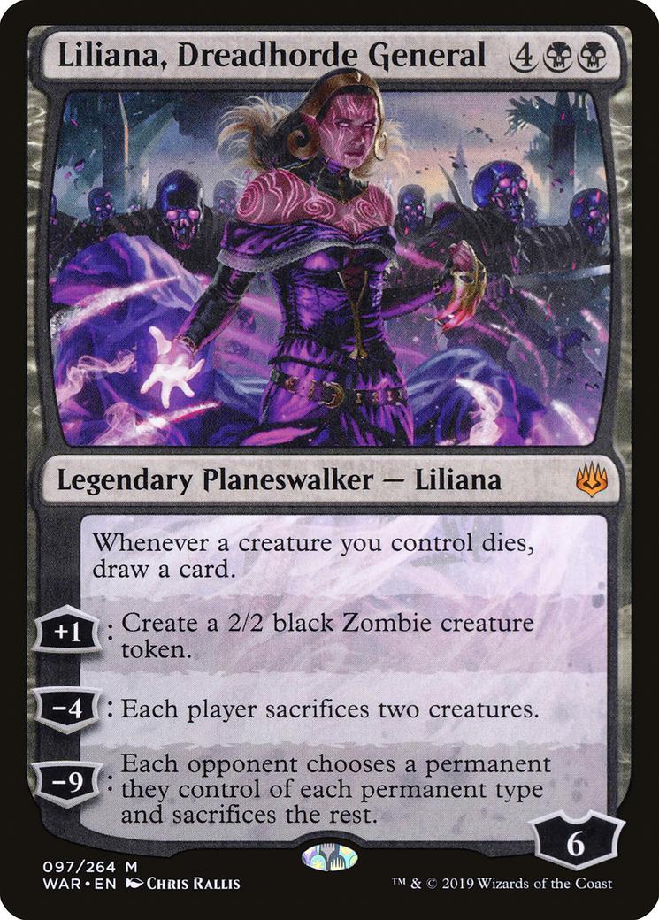Liliana, Dreadhorde General [WAR]