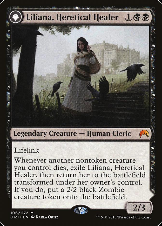 Liliana, Heretical Healer [ORI]