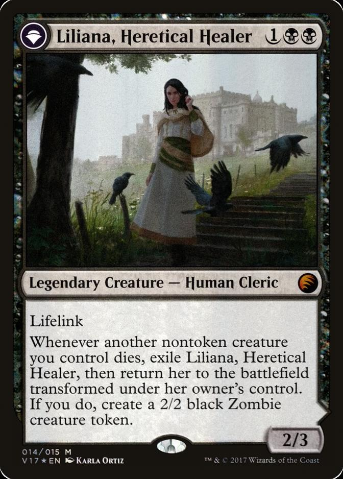 Liliana, Heretical Healer [V17] (F)