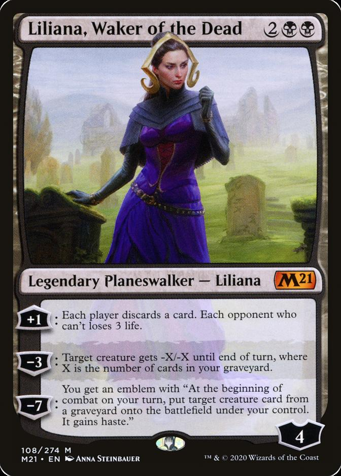 Liliana, Waker of the Dead [M21]
