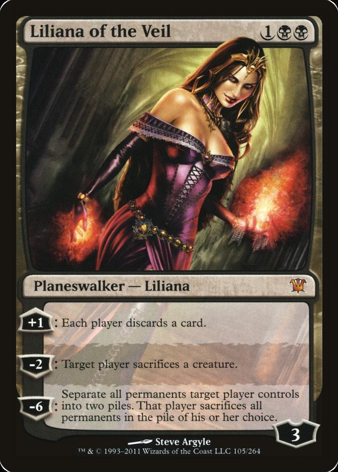 Liliana of the Veil [ISD]