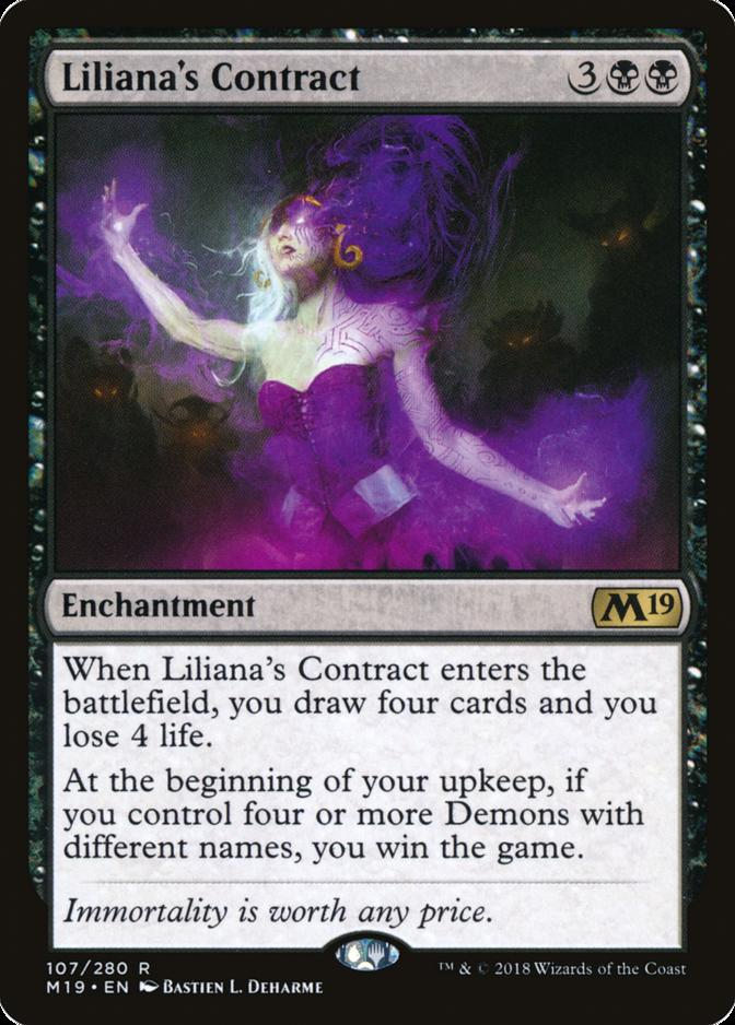 Liliana's Contract [M19]