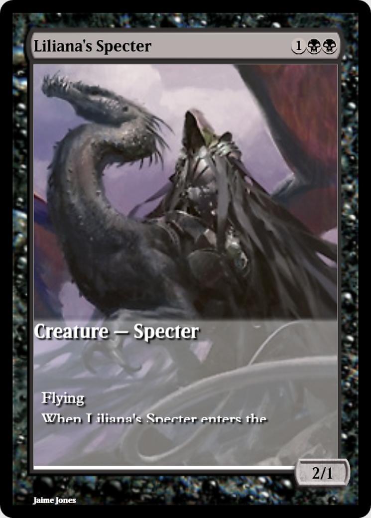 Liliana's Specter [PRM] (F)