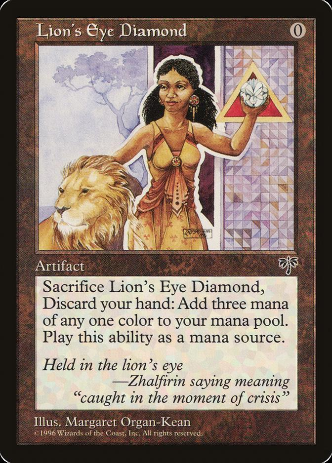 Lion's Eye Diamond [MI]