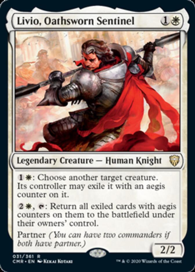Livio, Oathsworn Sentinel [CMR]