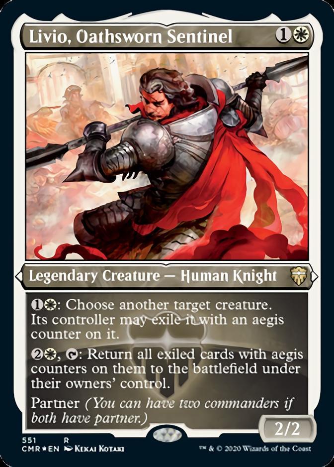 Livio, Oathsworn Sentinel [PCMR] (F)