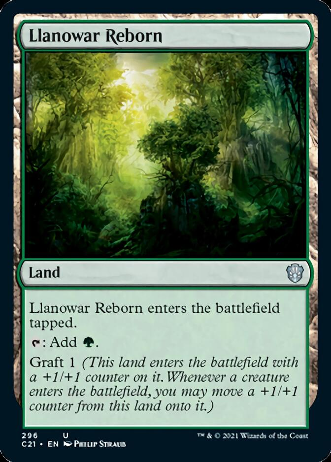 Llanowar Reborn [C21]