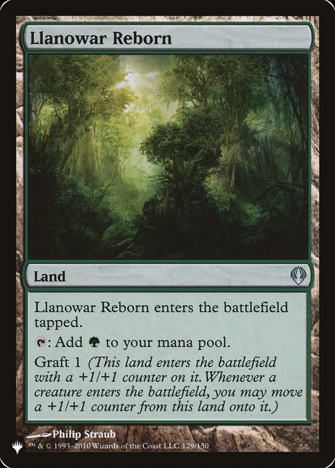 Llanowar Reborn [PLIST]