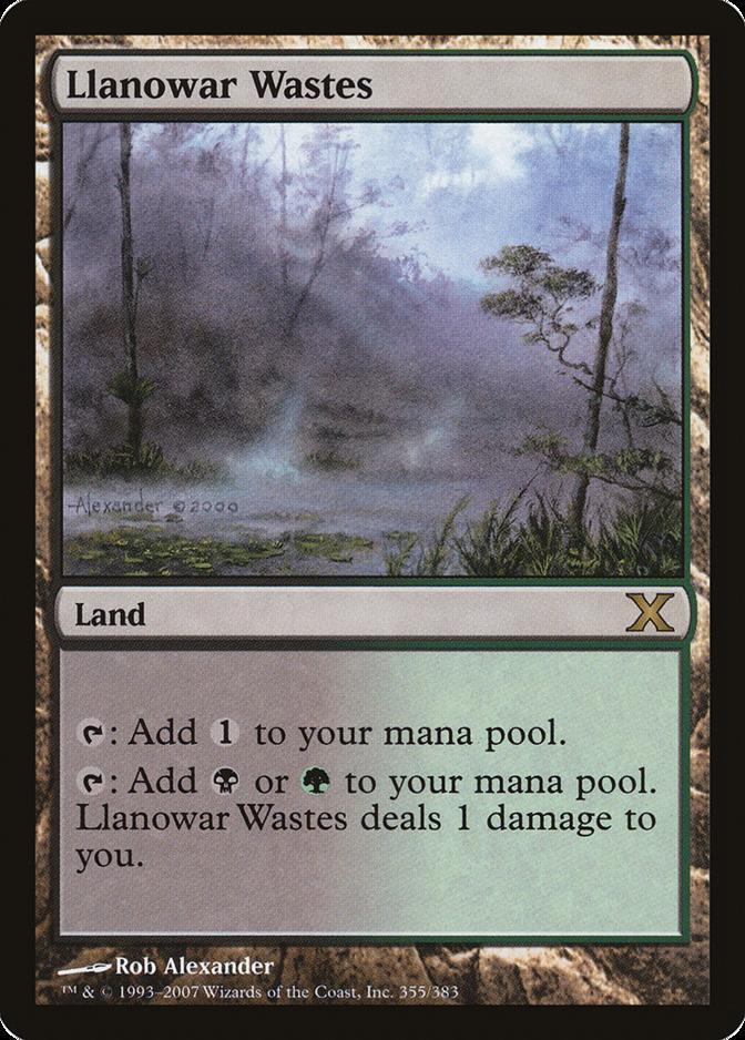 Llanowar Wastes [10E]