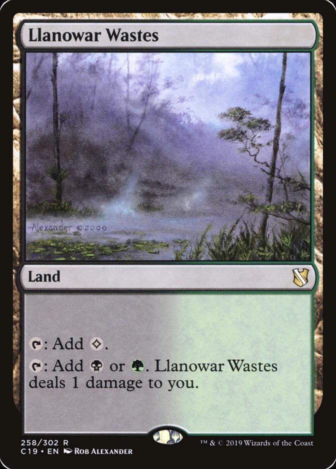 Llanowar Wastes [C19]