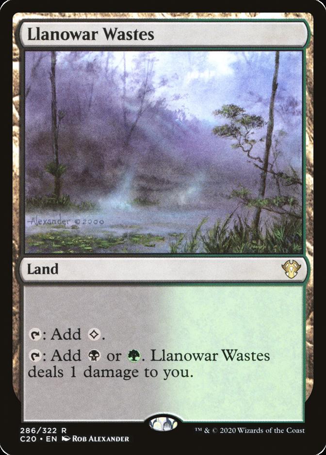 Llanowar Wastes [C20]