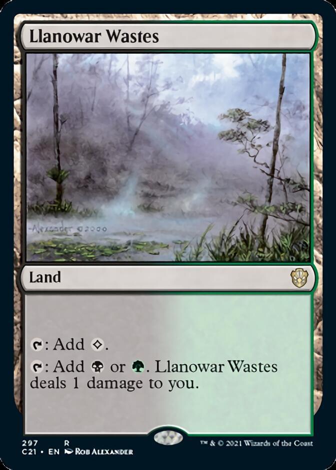 Llanowar Wastes [C21]