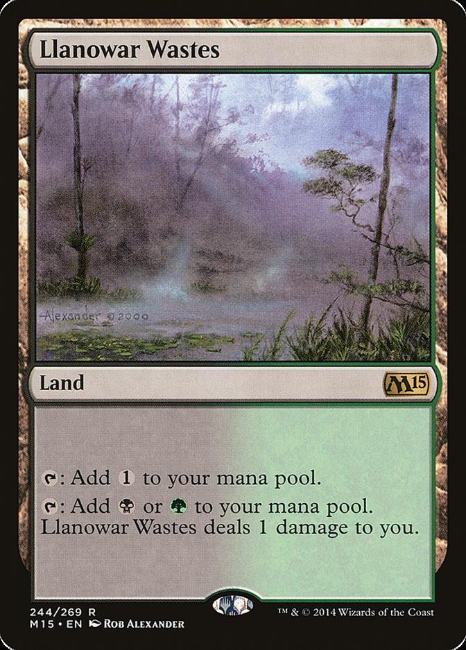 Llanowar Wastes [M15]