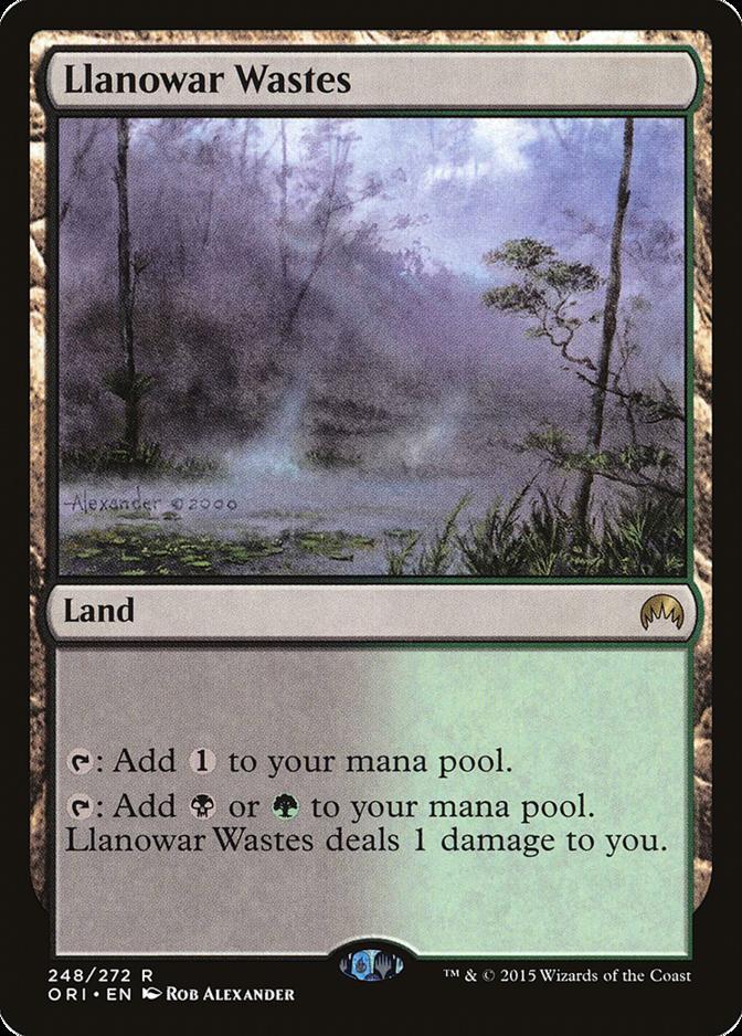 Llanowar Wastes [ORI]