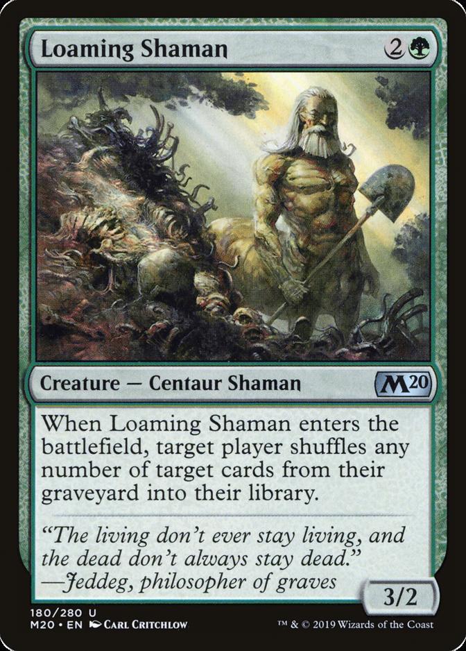 Loaming Shaman [M20]