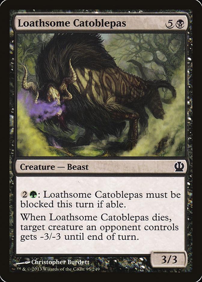 Loathsome Catoblepas [THS]