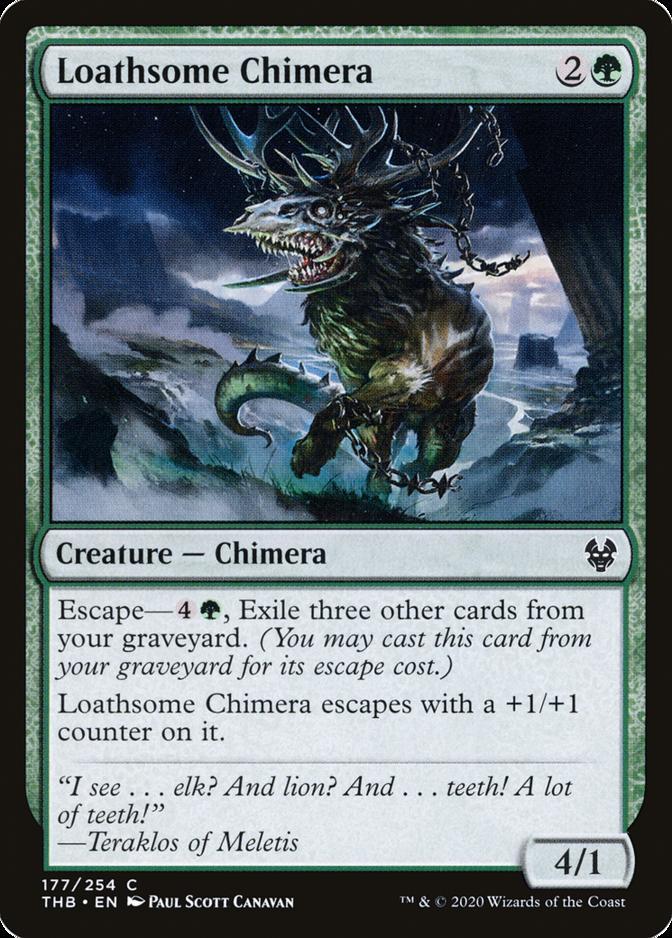 Loathsome Chimera [THB] (F)