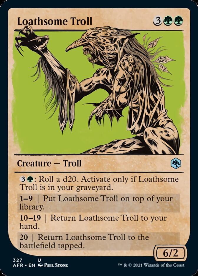 Loathsome Troll <showcase> [AFR]